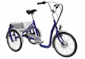 3 hjulet elcykel