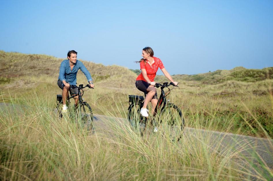 cykeltur i klitterne